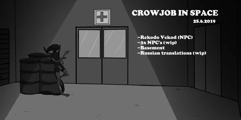 In space crowjob Crowjob in
